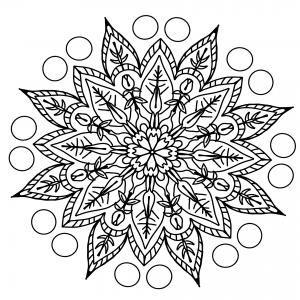Dibujo para colorear con rotulador de alcohol